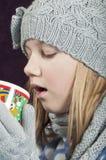 Горячее питье зимы Стоковое Фото