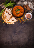 Горячее пряное masala tikka цыпленка Стоковое Изображение RF