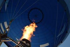 Горячее пламя воздушного шара Стоковая Фотография