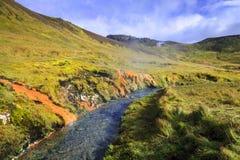 горячее река Стоковые Изображения