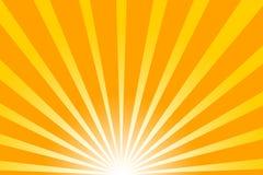 горячее солнце лета Стоковые Изображения RF