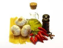 горячее спагетти Стоковые Фото