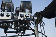 Горячее требуемое собрание воздушного шара Стоковые Фото