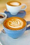 горячее latte Стоковое фото RF