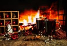 горячее mulled вино Стоковое фото RF