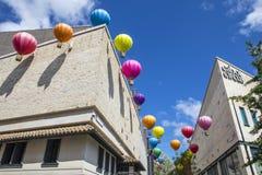 Горячие воздушные шары на цирке Cabot в Бристоле стоковая фотография