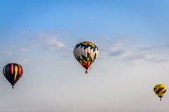 Горячие воздушные шары - многократная цепь Стоковое Изображение RF