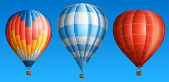 Горячие воздушные шары Стоковые Фотографии RF