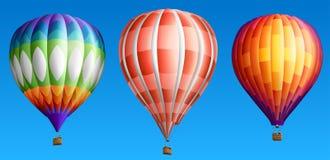 Горячие воздушные шары Стоковые Фото