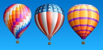 Горячие воздушные шары Стоковые Изображения RF