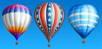 Горячие воздушные шары Стоковая Фотография RF