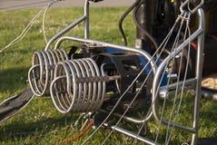 Горячие горелки воздушного шара Стоковое фото RF