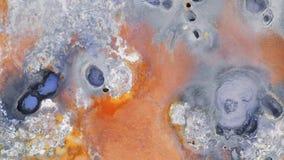 Горячие источники серы, северная Исландия, вид с воздуха, Европа акции видеоматериалы