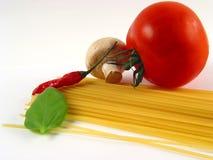 горячие макаронные изделия Стоковое Изображение RF