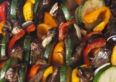 горячие овощи протыкальников Стоковое фото RF