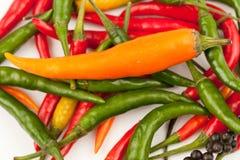 горячие перцы Стоковая Фотография RF
