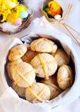 Горячие печенья перекрестных плюшек Стоковое Изображение