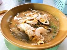 горячие продукты моря бака Стоковое Фото