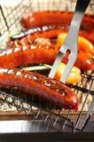 горячие сосиски bbq Стоковая Фотография