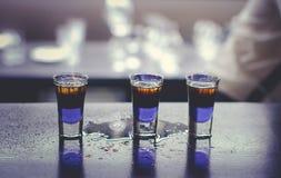Горячие съемки питья Стоковая Фотография
