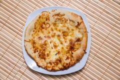 Горячий вкусный торт хлеба для еды Стоковое Изображение RF