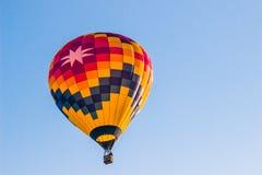 Горячий воздушный шар с остроконечной звездой большие 8 Стоковые Изображения