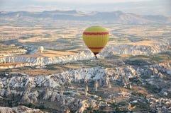 Горячий воздушный шар в индюке Стоковые Изображения