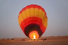 Горячий воздушный шар, Дубай стоковое фото