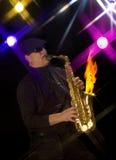 горячий джаз Стоковые Изображения