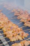 Горячий зажаренный в духовке свинина Стоковая Фотография