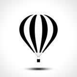 Горячий значок воздушного шара Стоковое Изображение