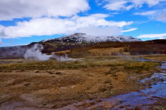Горячий источник Исландия Стоковое Изображение RF
