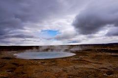Горячий источник Исландия Стоковое Изображение