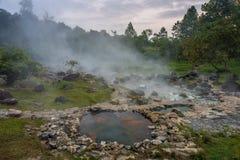 Горячий источник на национальном парке сына Chae Стоковая Фотография RF