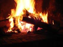 горячий камина домашний Стоковое Изображение RF