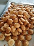 Горячий китайских традиционных печениь Пинга Heong peng сладостный Стоковые Фотографии RF