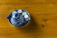 Горячий комплект чая Стоковые Фото