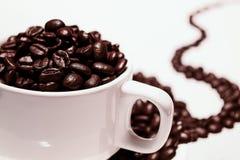 Горячий кофе пить стоковое изображение