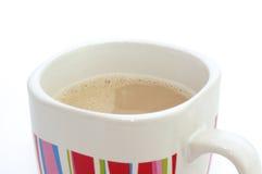 Горячий кофе с молоком. Стоковое Изображение RF