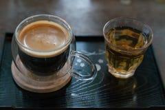Горячий кофе, чай стоковая фотография rf