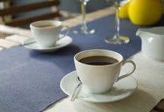 Горячий кофе Стоковая Фотография