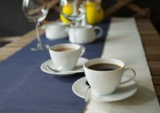 Горячий кофе стоковое фото