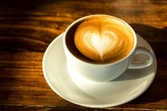 Горячий кофе latte Стоковое Фото