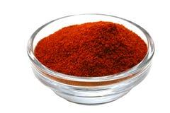 горячий красный цвет паприки Стоковые Фото