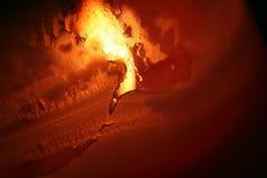 горячий красный цвет Стоковое Изображение