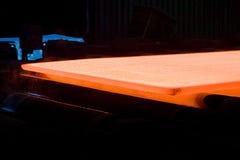 горячий лист металла Стоковое Фото