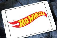 Горячий логотип бренда игрушки колес стоковая фотография