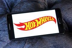 Горячий логотип бренда игрушки колес стоковые изображения rf