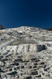 горячий мамонтовый национальный парк скачет yellowstone Стоковое фото RF