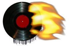 горячий новый рекорд Стоковое Фото